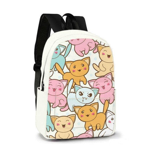 Cat Friends Custom Made Backpack SP179585