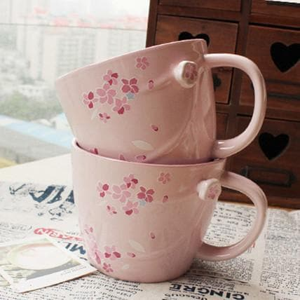 Cherry Blossom Ceramic Cups SP179491