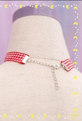 Cherry Ribbon Choker SP153787 - SpreePicky  - 6