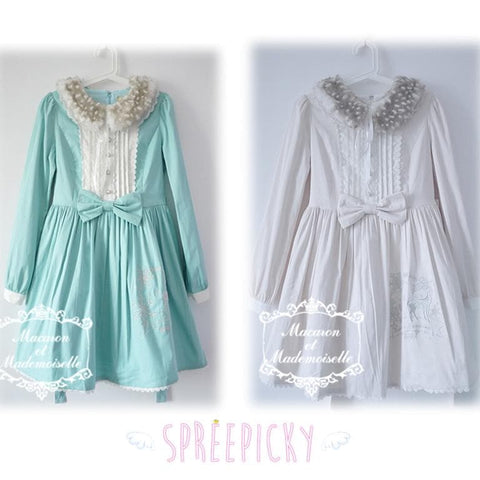 {Chess Story}Lolita [Dear Deer] Long-sleeve OP Dress SP140509 - SpreePicky  - 1