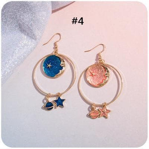 Chic Moon Star Earrings SP1812147