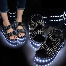Load image into Gallery viewer, Colorful LED Lighting Sandals SP1812372
