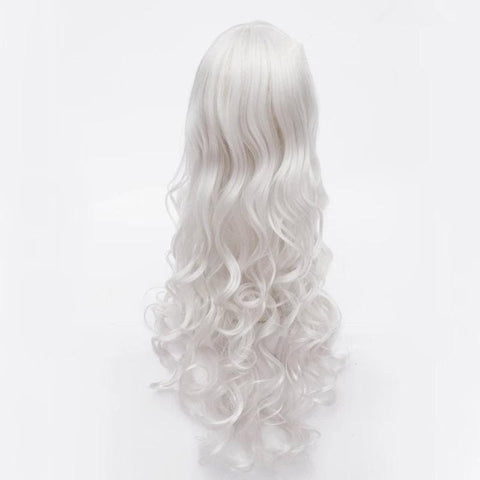 Cosplay Angel Sanctuary Raziel Silve White Long Curly Wig SP141210 - SpreePicky  - 4