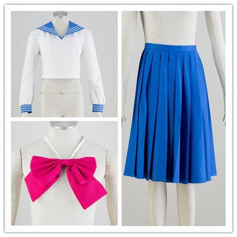 [Sailor Moon] Tsukino Usagi/Mizuno Ami Sailor Seifuku Uniform Set SP151723 - SpreePicky  - 4