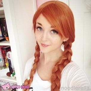 [Frozen] Princess Anna Cosplay Wig SP140779 - SpreePicky  - 1