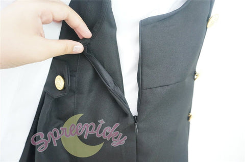 Cosplay Inu x Boku SS Roromiya Karuta and Shirakiin Ririchiyo Uniform Dress SP141201 - SpreePicky  - 8