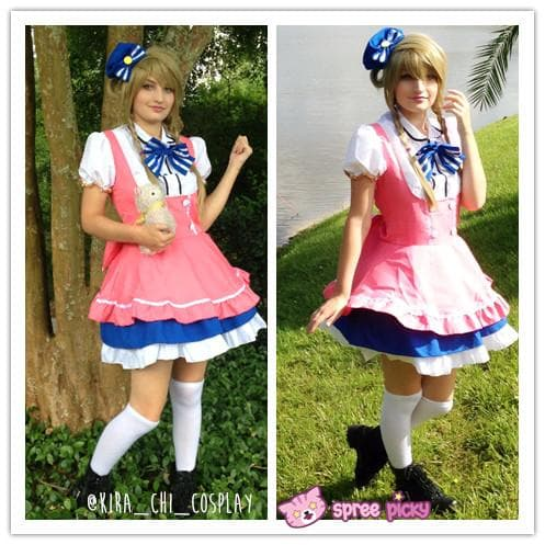 Cosplay Love Live Candy Princess Minami Kotori Maid Dress Set SP151724 - SpreePicky  - 1