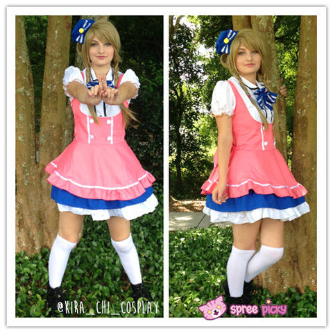 Cosplay Love Live Candy Princess Minami Kotori Maid Dress Set SP151724 - SpreePicky  - 2