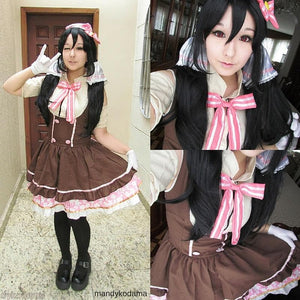 Cosplay [Love Live] Nico Yazawa Candy Maid Dress SP153014 - SpreePicky  - 6