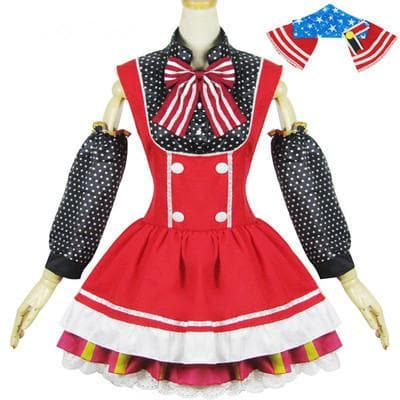 Cosplay [Love Live] Nishikino Maki Lolita Candy Maid Dress SP153096