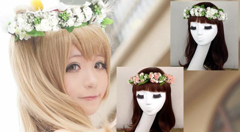 Cosplay Love Live Sweet Garland Hair Accessory SP153089 - SpreePicky  - 4