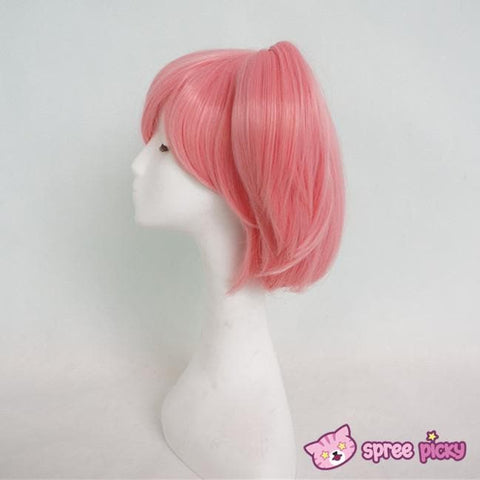 Cosplay Puella Magi Madoka Magica Pink Wig with 2 Pony Tails SP130007 - SpreePicky  - 2