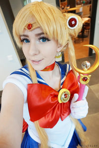Cosplay Sailor Moon Usagi Transformer Senshi Uniform Set Custom SP140895