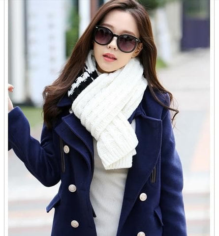 Couple Boyfriend GirlFriend Matching Scarf SP154066 - SpreePicky  - 4