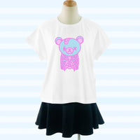 Creepy Cute Skeleton Bear Tee Shirt SP1710476