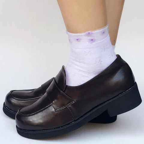 Custom Made Black Uniform Shoes SP168067
