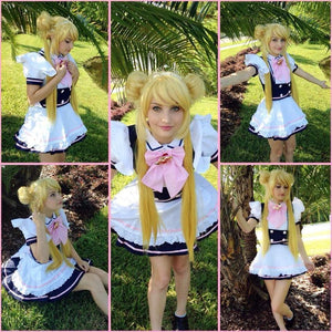 Custom Made Cosplay Uniform Maid Dress SP141213 - SpreePicky  - 2