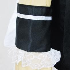 [Custom Made] Lolita Black Housemaid Cosplay Costume SP153686 - SpreePicky  - 8