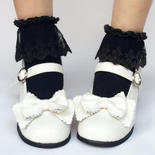 Load image into Gallery viewer, Custom Made Lolita Elegant Bow Shoes SP168082