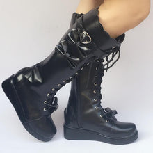 Load image into Gallery viewer, Custom Made Lolita Knee Boots Shoes SP168139