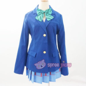 Custom Made Love Live School Uniform Set SP152457 - SpreePicky  - 2