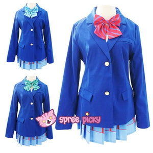 Custom Made Love Live School Uniform Set SP152457 - SpreePicky  - 1