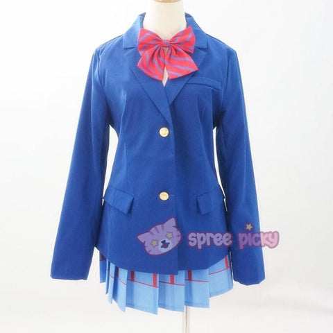 Custom Made Love Live School Uniform Set SP152457 - SpreePicky  - 4