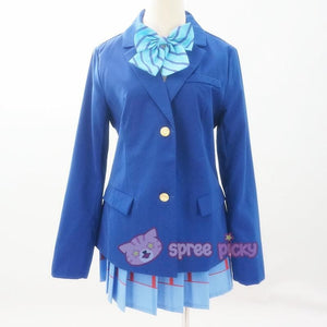 Custom Made Love Live School Uniform Set SP152457 - SpreePicky  - 3