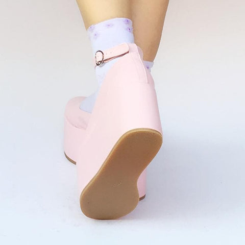 f98abffac40 Custom Made Pinky Baby Doll Platform Shoes SP168134 - SpreePicky