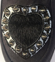 Load image into Gallery viewer, Custom Made Rivet Heart Flatform Shoes SP168610