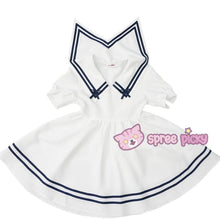 Load image into Gallery viewer, Custom Made XS-4XL Blue/White Sailor Dress SP152311 - SpreePicky  - 3