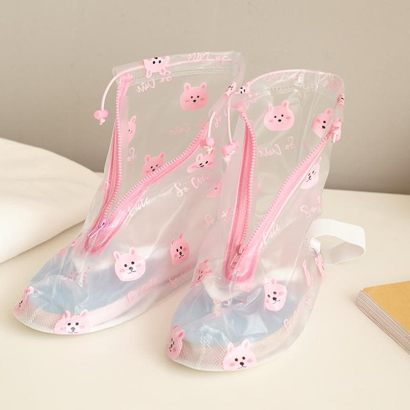 Cute Rainy Day Shoes Cover SP1811893
