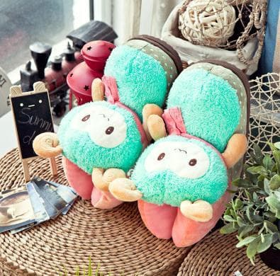 Cutie Alpaca Couple Slippers Shoes SP153522 - SpreePicky  - 11
