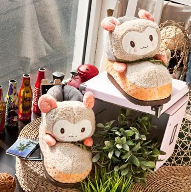 Cutie Alpaca Couple Slippers Shoes SP153522 - SpreePicky  - 12