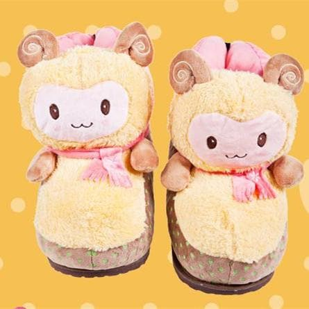 Cutie Alpaca Couple Slippers Shoes SP153522 - SpreePicky  - 4