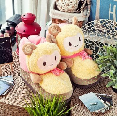 Cutie Alpaca Couple Slippers Shoes SP153522 - SpreePicky  - 9