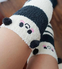 Load image into Gallery viewer, Cutie Animal Fleece Thigh High Long Socks SP154247 - SpreePicky  - 12