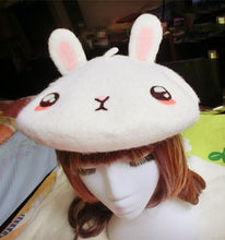 Load image into Gallery viewer, Cutie Bunny Beret Cat SP153409 - SpreePicky  - 4