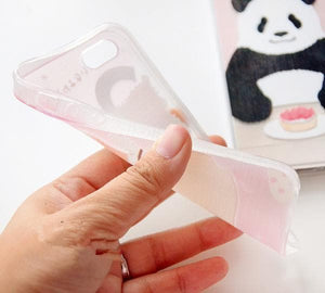 Cutie Panda and Kitty Iphone Case SP153029 - SpreePicky  - 7