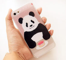Load image into Gallery viewer, Cutie Panda and Kitty Iphone Case SP153029 - SpreePicky  - 2