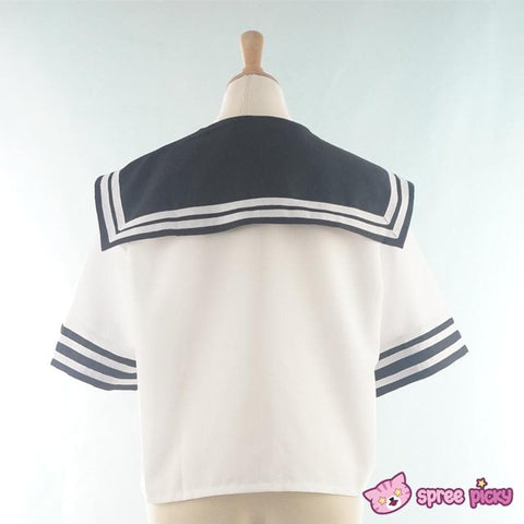 Daily Cosplay [Sailor Moon] Sailor Pluto Setsuna Meiou Sailor Seifuku Black Uniform Top/Skirt/Bow SP151873/SP151874 - SpreePicky  - 6