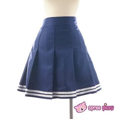 Daily Cosplay Sailor Moon Sailor Uranus Tenoh Haruka Sailor Seifuku Uniform Top/Skirt/Bow SP151747/8 - SpreePicky  - 7