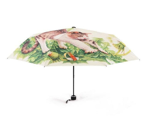 Daisy Kitty Sun-Rain 3 Fold Umbrella SP153343 - SpreePicky  - 4