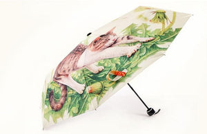 Daisy Kitty Sun-Rain 3 Fold Umbrella SP153343 - SpreePicky  - 5