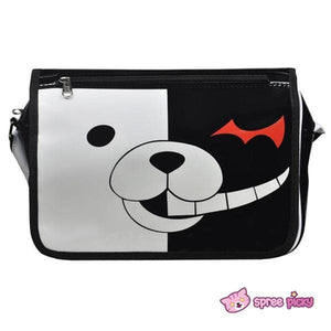 Dangan Ronpa Principal Monokuma Black/White Bear Bag Shoulder Bag SP151692 - SpreePicky  - 2