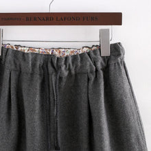 Load image into Gallery viewer, Dark Grey Kawaii Kitten Elastic Waist Skirt SP154035 - SpreePicky  - 4