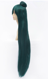 Deep Green Cosplay [Sailor Moon] Sailor Pluto Meiou Setsuna Wig 100cm SP152884 - SpreePicky  - 3