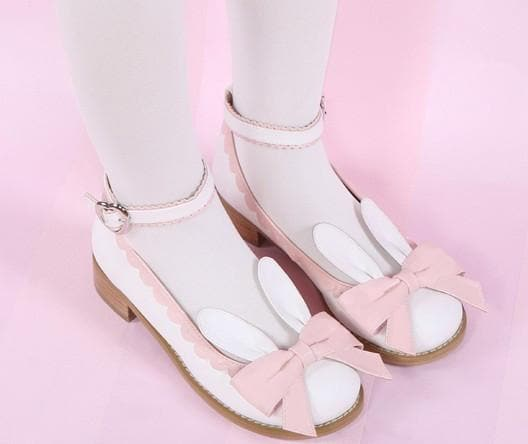 EU 32-44 Lolita Cutie Bunny Bowknot Princess Shoes SP153064 - SpreePicky  - 1