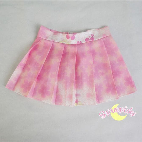 [S-XL]J-Fashion Pink Sakura Sailor Seifuku Top and Skirt Set SP151631 - SpreePicky  - 9