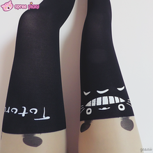 Load image into Gallery viewer, Totoro Fake Over Knee Thigh High Tights SP130042 - SpreePicky  - 4